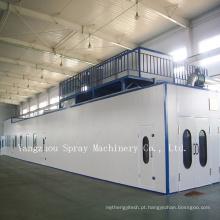 Sala da pintura da maquinaria da alta qualidade, cabine de pulverizador para a grande maquinaria