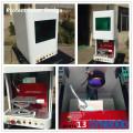 Marqueur en acier inoxydable machine à gravure laser Protection Couverture Design Syngood 100x100mm Raycus 10W 20W 30W