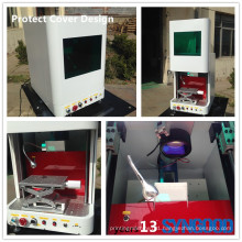 Syngood 10W/20W/30W gold and silver jewelry laser engraving machine fiber laser marking machine Protection Cover Design