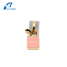 Lock Shape Design Handbag Accessories Hardware