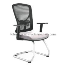 Nuevas llegadas Mesh oficina sillas de trabajo sin ruedas (FOH-XM2D)