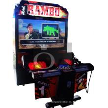 Máquina de juego de la arcada, máquina de juego (Rambo)