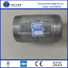 non alloy forged pipe butt weld and threaded coupling