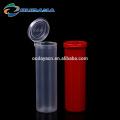 Garrafas de plástico com tubo de embalagem com tampa flip top