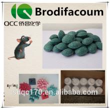 Brodifacoum 98% TC 0,005% Блок воска CAS 56073-10-0