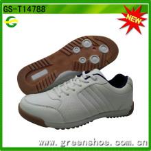 Neue Entwurfs-preiswerte Mens-beiläufige weiße Schuhe