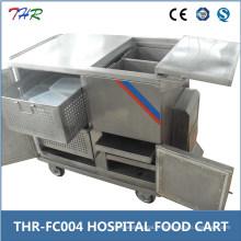 Chariot d'alimentation pour hôpitaux en acier inoxydable (THR-FC004)