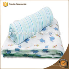 white organic cotton baby blanket for new baby