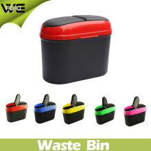 Small Waste Container ABS Material Smart Plastic Car Dustbin