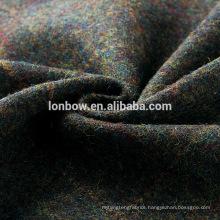 High quality fashion men's all wool tweed coat fabric regular stock on sale