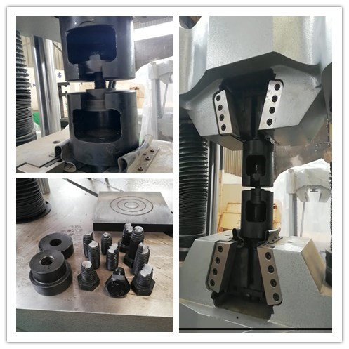 Bolt Screw Tensile Strength Testing Machine Hydraulic UTM