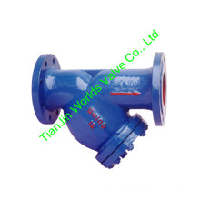 Flanged End Cast Iron Y Type Filter for Water (GL41-10/16)