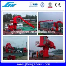 31m 1.5t hydraulic crane Telescopic boom