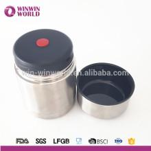 New Business Idea Amazon Venta caliente 18/8 Contenedores de almacenamiento de acero inoxidable de doble pared para cocina