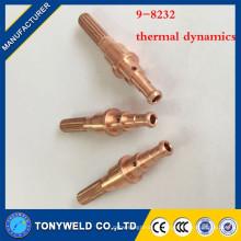 Pièces de la torche à plasma 9-8232 électrode de soudage au cuivre