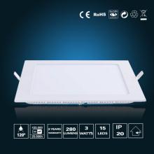 3W LED Panel Light 85*85*16mm