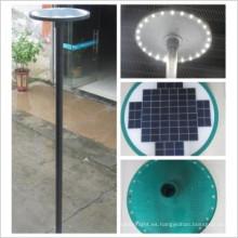 camino solar de luz de alta iluminación para exterior con sensor de movimiento