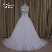 Ak005 Beautiful Gowns Pictures of High Quality Lace Bridal Wedding Dress 2016