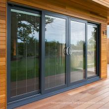 Thermal Break Aluminium Frame Glass Sliding Doors