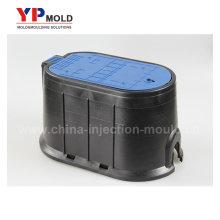 China injeção de plástico medidor de água caixa de molde fábrica