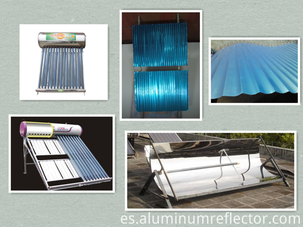 Aluminum rolls applications