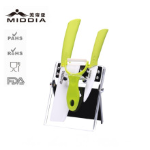 Ceramic Home Applance Kitchen Knives Set with Peeler