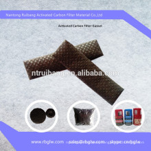 filter media odor removal material activated carbon filter mesh