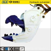 attachments for hydraulic excavators demolition pulverizer