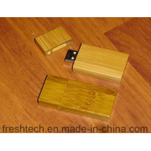 Eco-Friendly de moda de bambú y madera de estilo USB Flash Drive (D804)