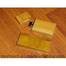 Eco-Friendly à la mode en bambou et en bois Style USB Flash Drive (D804)
