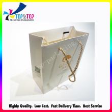 Material de papel y estampado de impresión Manipulación Bolsa de regalo de lujo