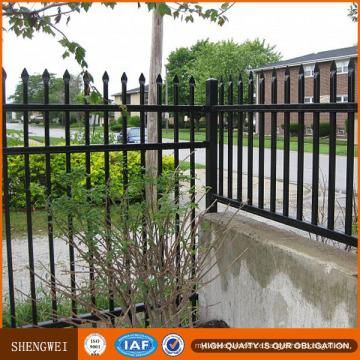 Low Price Galvanized Steel/Wrought Iron Fence