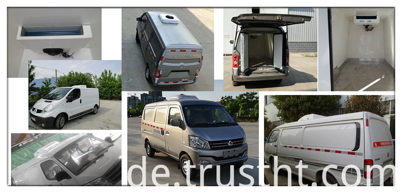 rooftop refrigeration for van