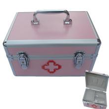 Boîtier d'urgence en aluminium à usage médical