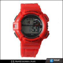 red fashion big wrist watches for men and women