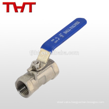 2 Piece Screw Thread battery power ball valve
