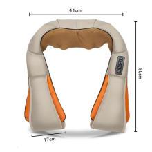 Cinturón de masaje eléctrico calentado amasado en forma de U