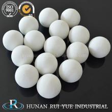 Bola de cerámica de alúmina refractaria alta y uso para procesos de olefina