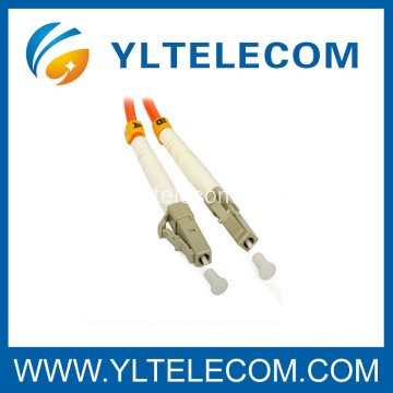 LC Optical Patch Cord 62.5 / 125 Multimode en CATV System Telecommunications