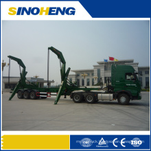 Liangshan 50t Side Loading Semitrailer for Containers
