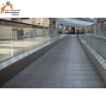 Einkaufszentrum Auto Indoor / Outdoor Moving Sidewalk Walk