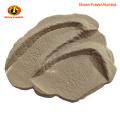 Corindon brun oxyde d'aluminium dans un matériau abrasif