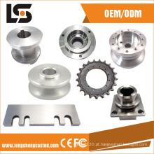Peças fazendo à máquina do CNC do fabricante de China e acessórios do torno