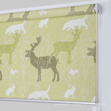 Roller shutter custom digital printed fabric