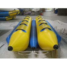 Barco inflável para 10 pessoas Barco de banana PVC Muitas Pessoas