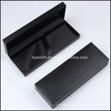 Caixa de embalagem de plástico preto com logotipo como presente B001