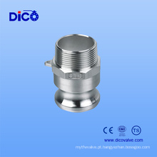 China Aço Inoxidável SUS 304 SUS 316 Camlock (TIPO F)