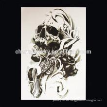 OEM Venta al por mayor Parte del tatuaje del brazo del diablo del tatuaje del brazo del cráneo del tatuaje del brazo W-1009