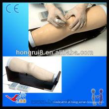 Simulador de treinamento de injeção intracavitária com joelho eletrônico ISO, modelo de injeção intracavitária