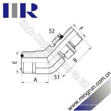 45 Cotovelo Orfs Masculino / Bsp Masculino O-Ring Adaptador de Tubo Hidráulico (1FG4-OG)